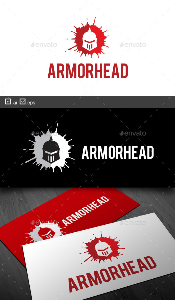 Armor Head - Objects Logo Templates
