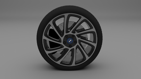 BMW i8 Wheel - 3DOcean Item for Sale