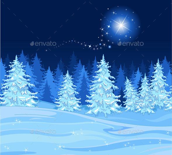 Shooting Star  - Christmas Seasons/Holidays