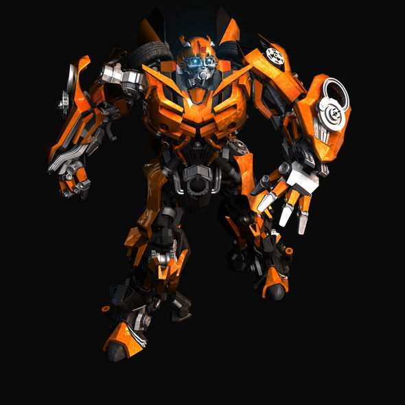 Transformers-Bumblebee - 3DOcean Item for Sale