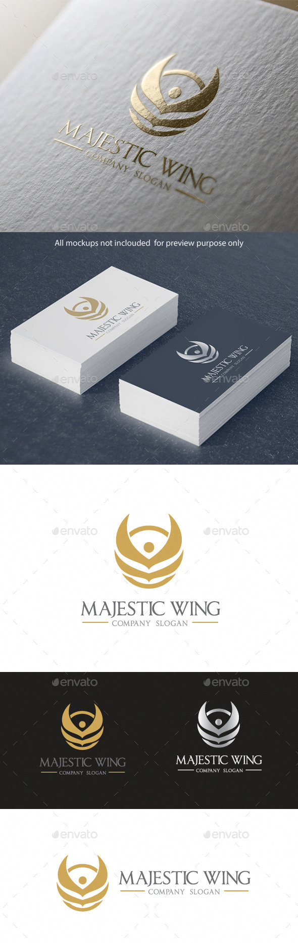 Majestic Wing - Crests Logo Templates