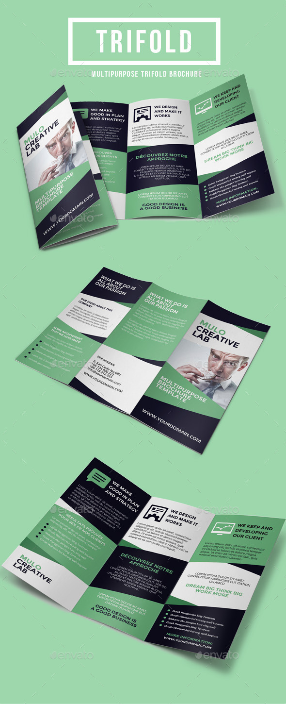 Multipurpose Trifold Brochure Vol. 5 - Corporate Brochures