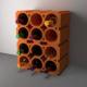 Wine Rack Bricks - 3DOcean Item for Sale