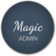 Magic - Clean Responsive Admin with AngularJS - ThemeForest Item for Sale