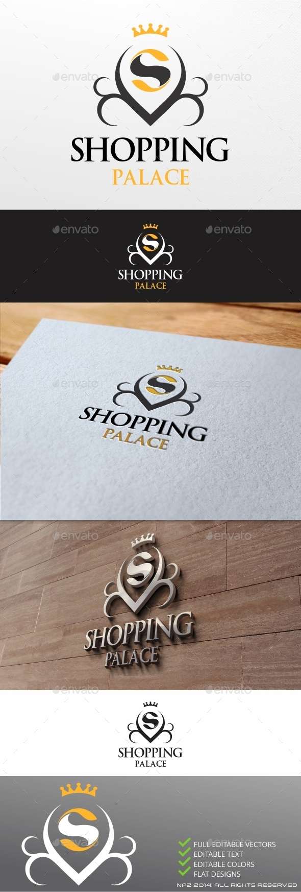 Shopping Palace  - Letters Logo Templates