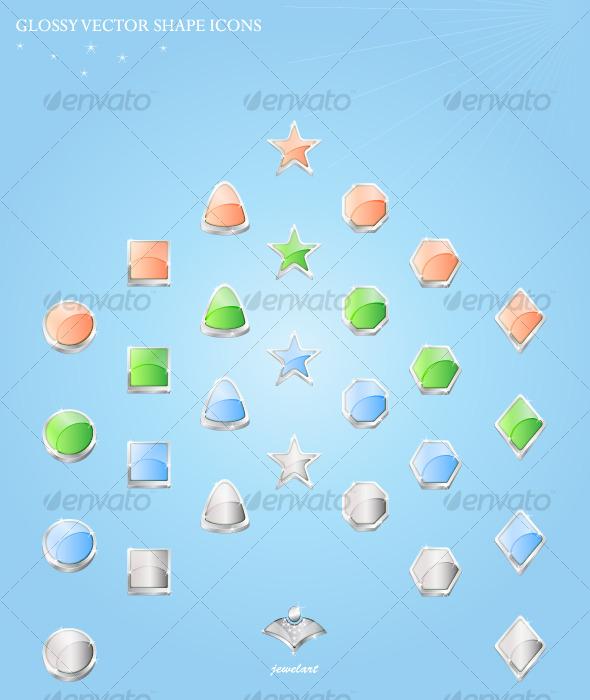 Shape Icon Set - Miscellaneous Icons