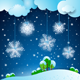 Winter Background with Snowflakes - GraphicRiver Item for Sale