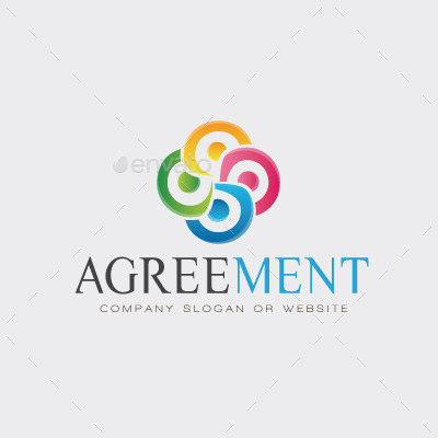 Agreement logo template by maioriz graphicriver for Logo use agreement template