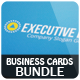 Executive Business Card - Bundle 3 in 1 [Vol.3] - GraphicRiver Item for Sale