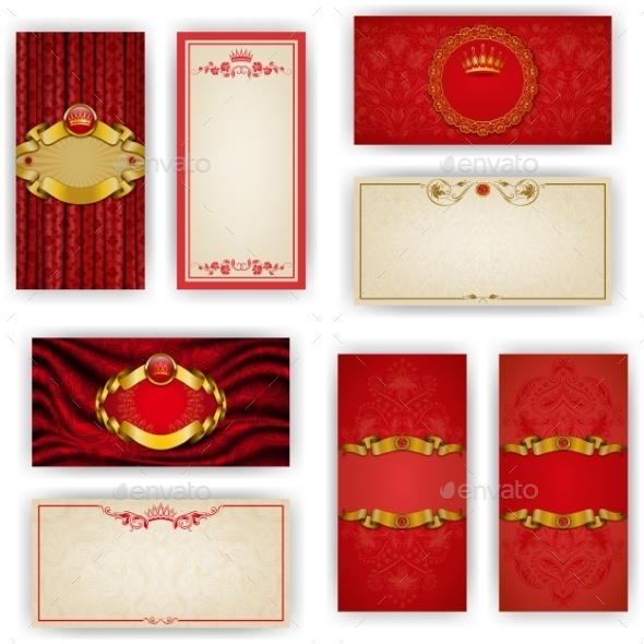 Template for Luxury VIP Invitation - Miscellaneous Seasons/Holidays