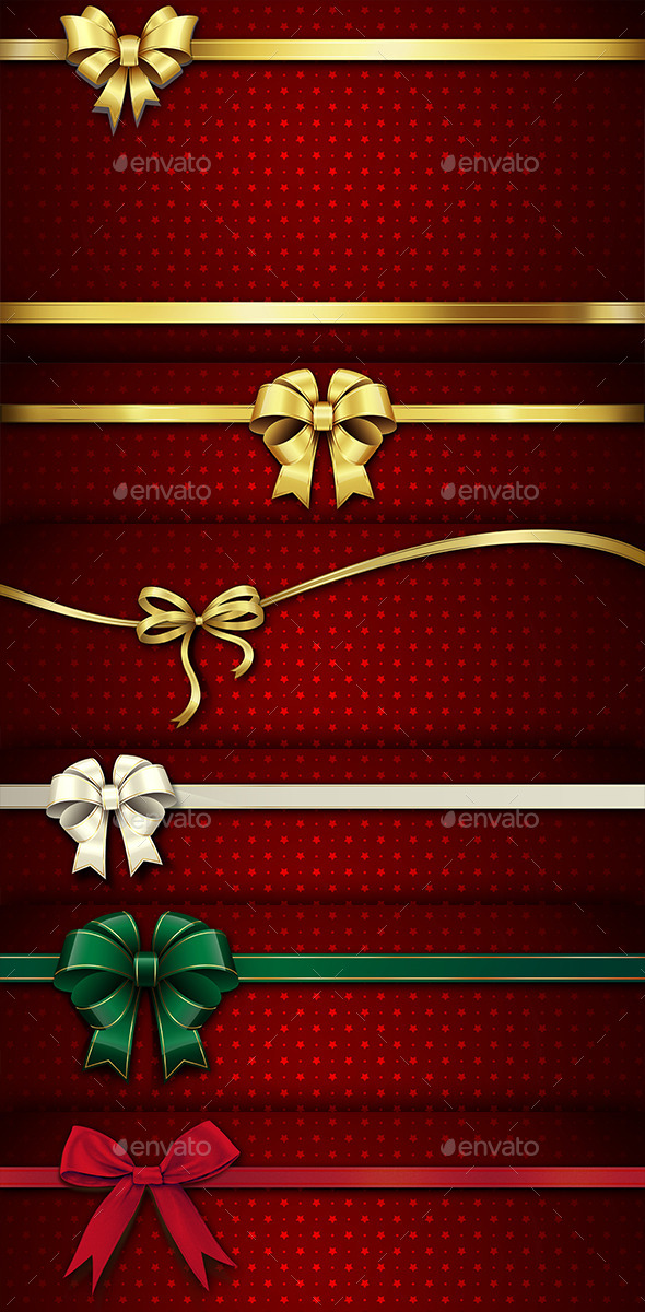 Christmas Ribbon - Miscellaneous Backgrounds