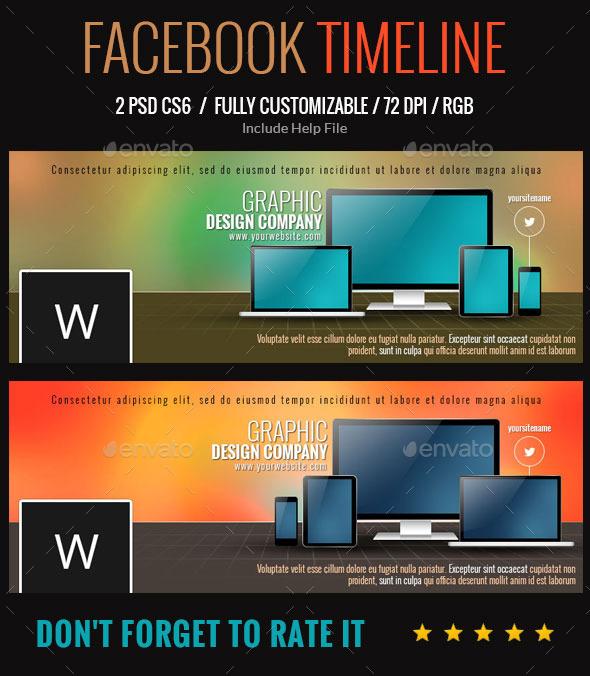Corporate Facebook Cover - Facebook Timeline Covers Social Media