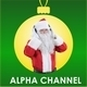 Santa Claus With Headphones - VideoHive Item for Sale