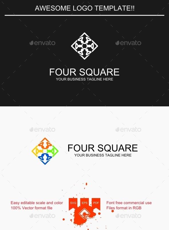 Four Square Logo - Symbols Logo Templates