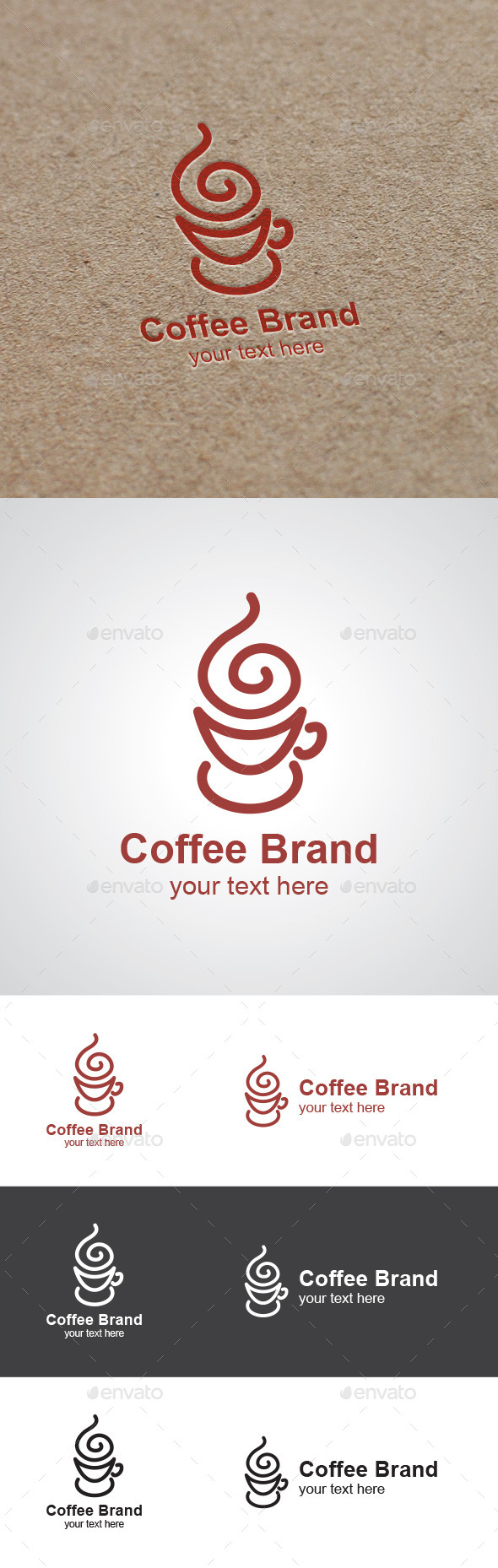 Coffee Brand Logo  - Food Logo Templates