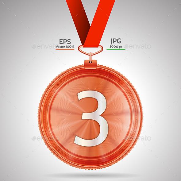 Medal Third Place - Miscellaneous Vectors