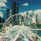 Flying in Downtown - Chicago - VideoHive Item for Sale