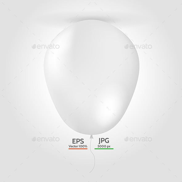 Balloon Mock Up - Decorative Vectors