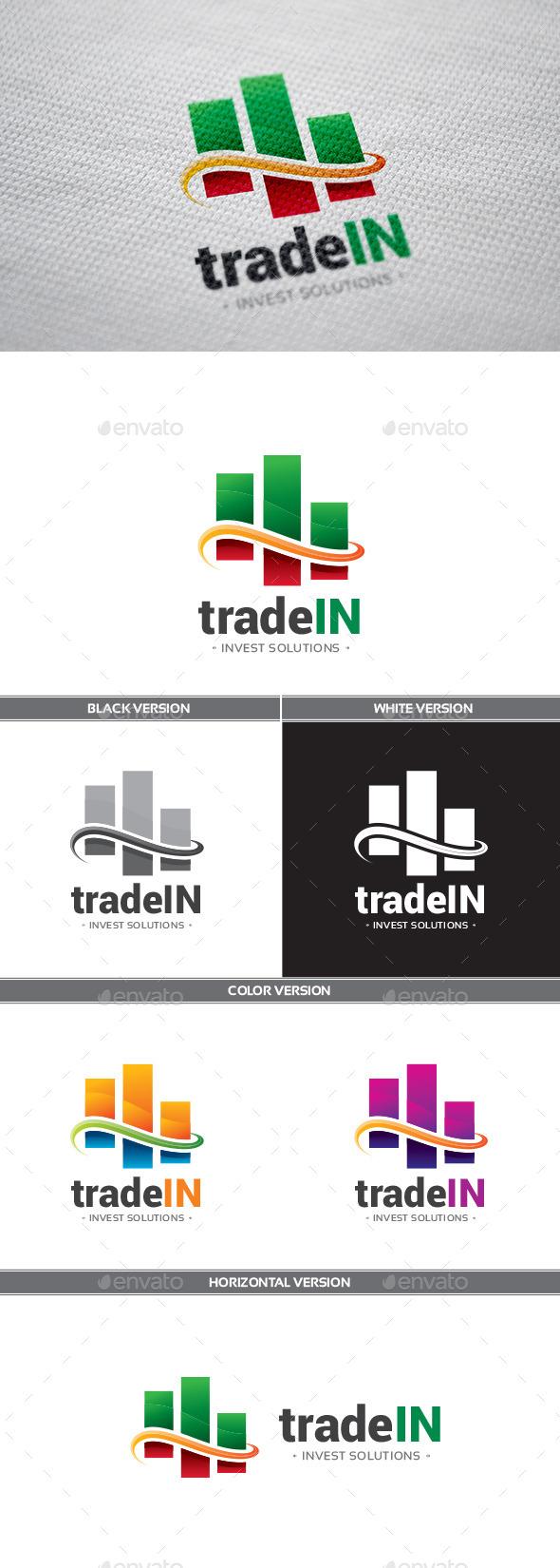 TradeIn Logo - Objects Logo Templates