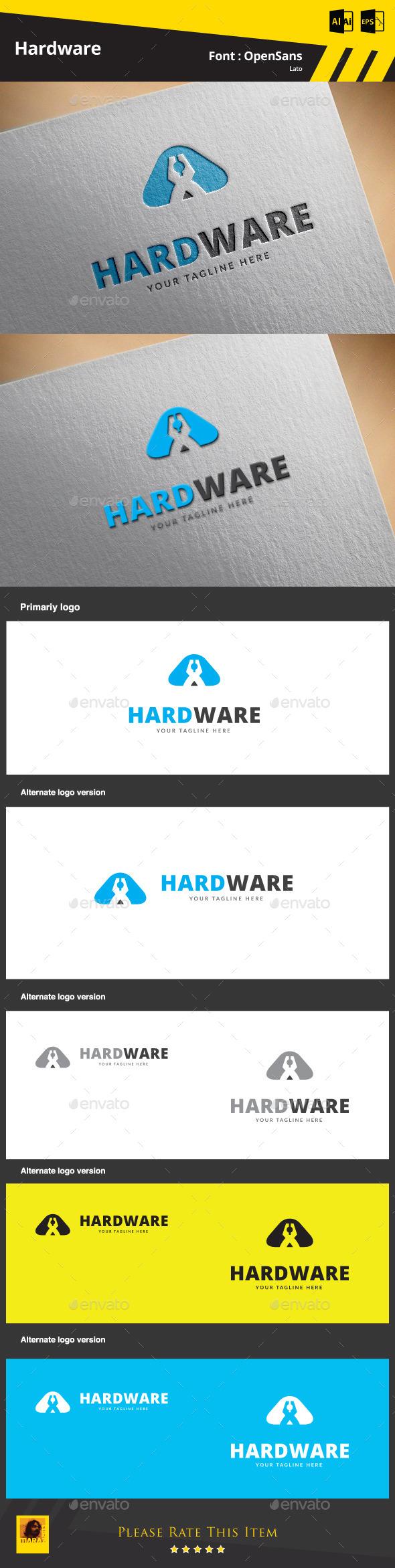 Hardware Logo Template - Symbols Logo Templates