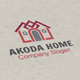 Akoda Home Logo - GraphicRiver Item for Sale