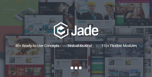 Jade – Flexible Multi Purpose Responsive Theme