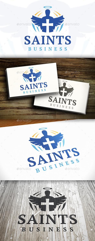 Saint Logo - Humans Logo Templates