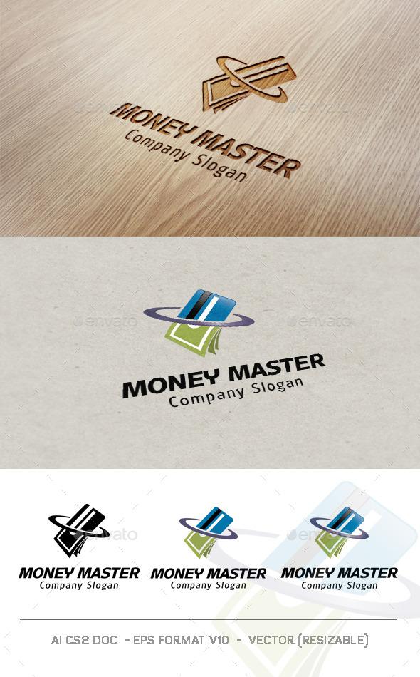 Money Master Logo - Objects Logo Templates