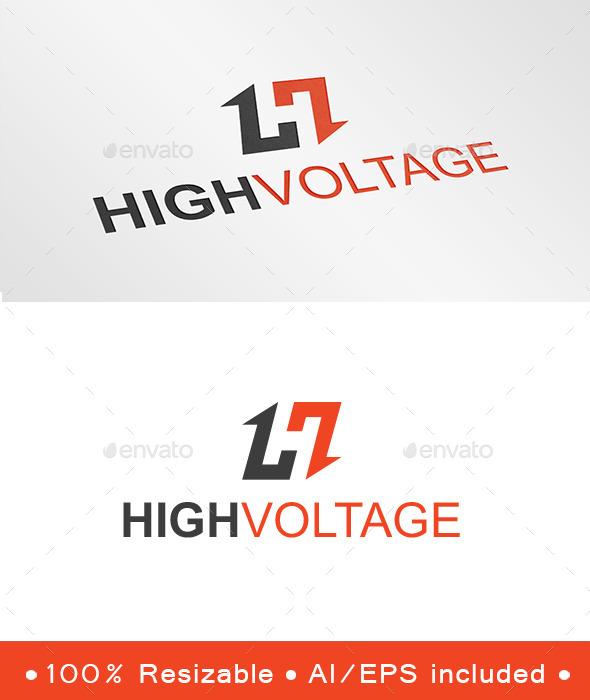Letter H Arrow Logo - Letters Logo Templates