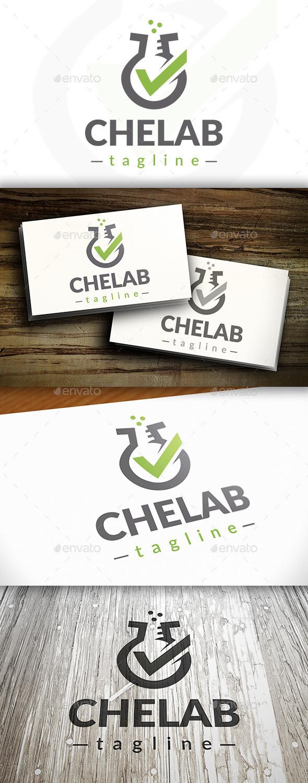 Lab Check Logo - Objects Logo Templates