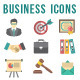 Flat Business and Financial Icons Set - GraphicRiver Item for Sale
