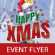 Happy Xmas Flyer PSD Template - GraphicRiver Item for Sale