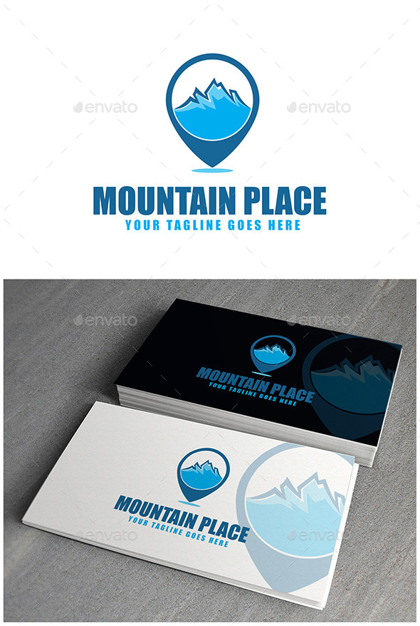 Mountain Place Logo - Symbols Logo Templates
