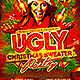 Ugly Christmas Sweater Party Flyer V2 - GraphicRiver Item for Sale