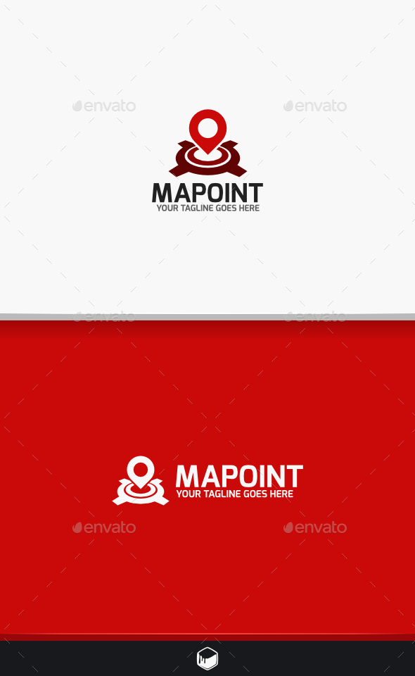 Map Point Logo - Objects Logo Templates