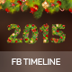 New Year 2015 Facebook Cover - GraphicRiver Item for Sale