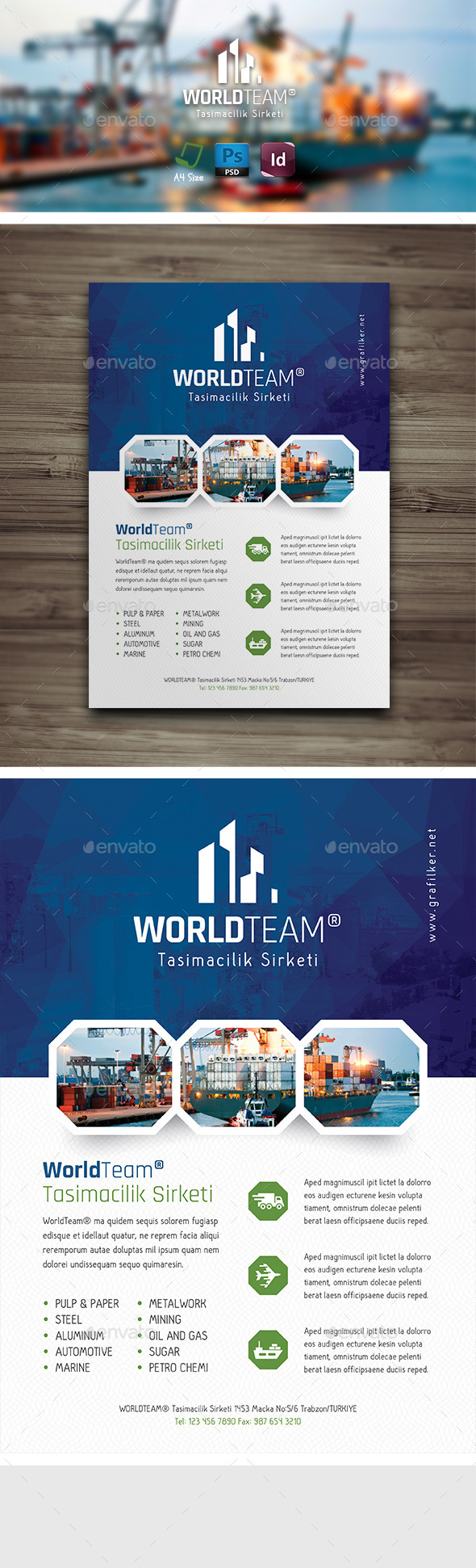 International Flyer Templates - Corporate Flyers