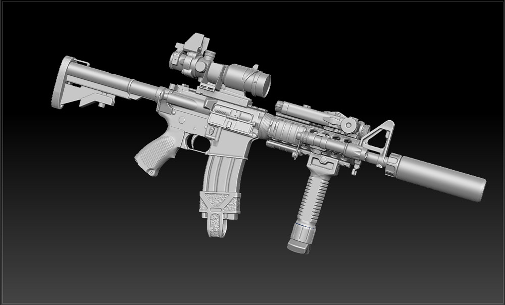 L119a1 Rifle // Mesh Pack