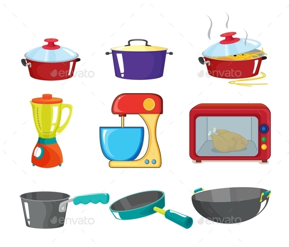 Pots and Pans Series - Man-made Objects Objects