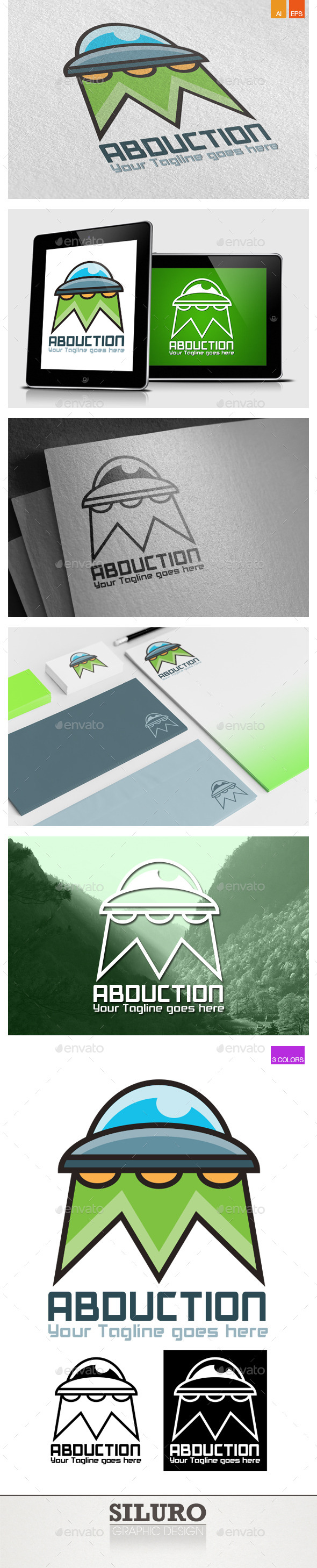 Abduction Logo - Objects Logo Templates