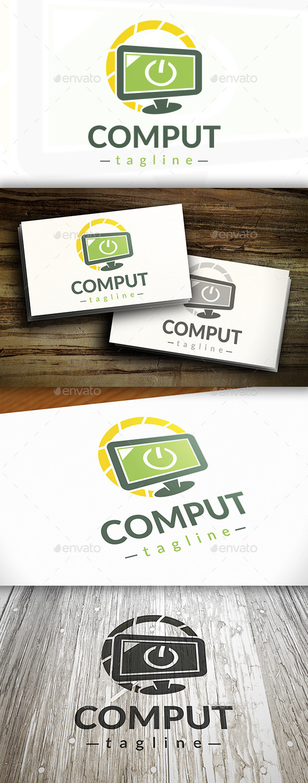 Computer Power Logo - Symbols Logo Templates