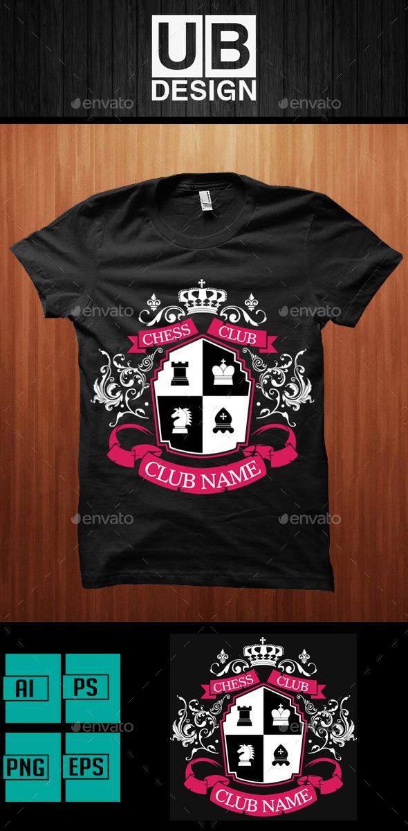 Academic Shirt Design for Chess Club - Academic T-Shirts
