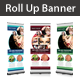 Beauty Saloon Rollup Banner