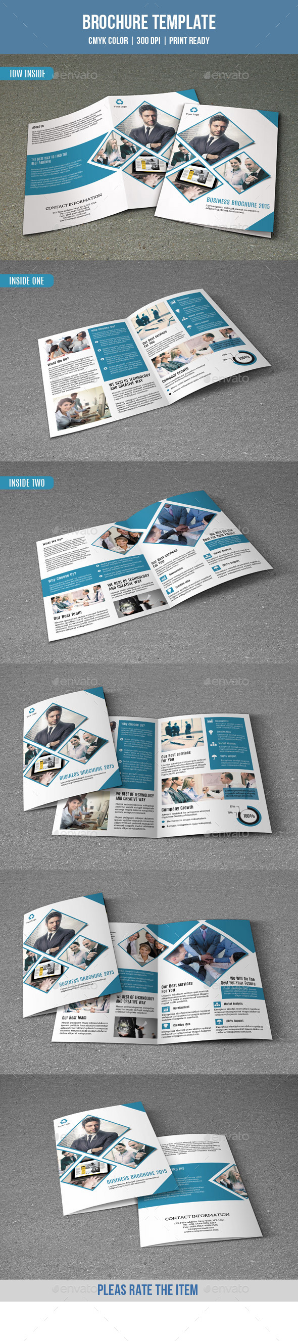 Bifold Brochure for Business-V154 - Corporate Brochures