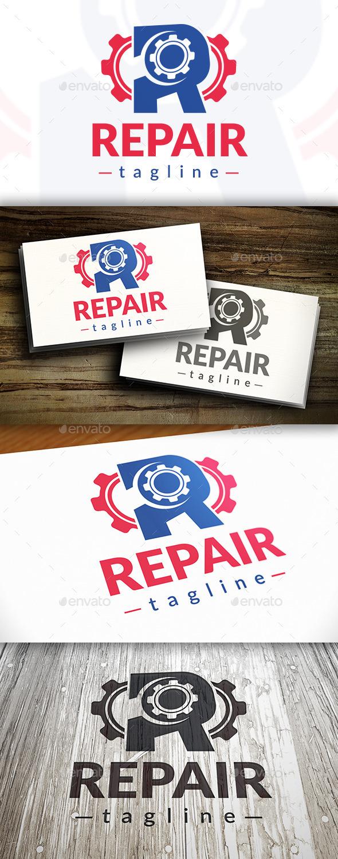 Repair Logo - Letters Logo Templates