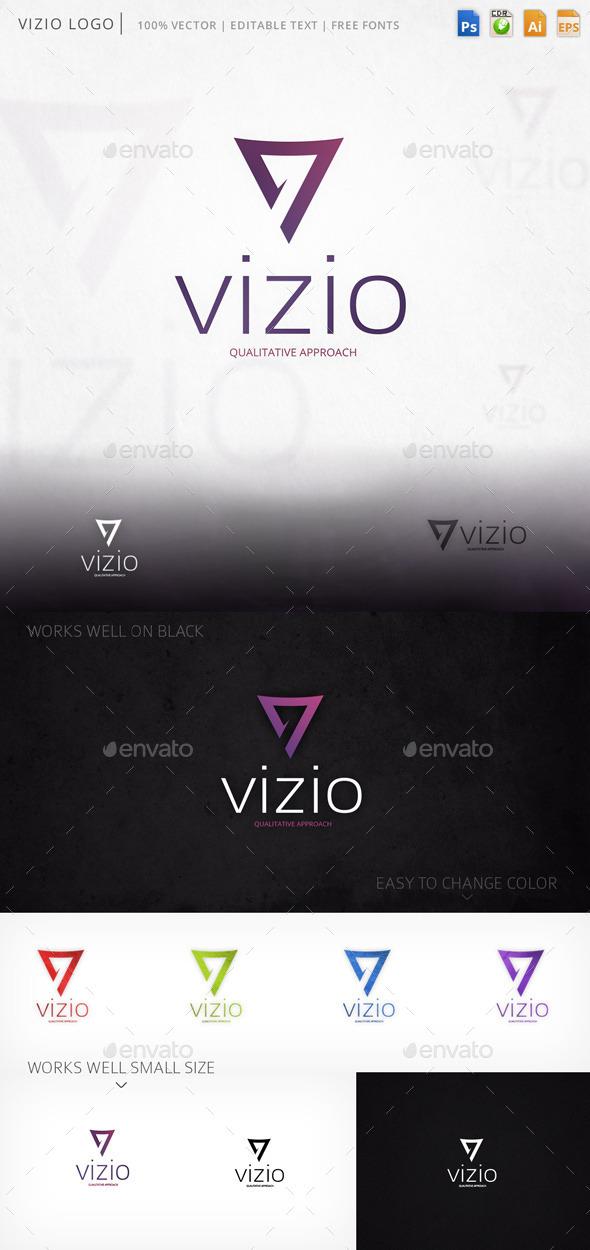Vizio Letter V Logo Template - Abstract Logo Templates