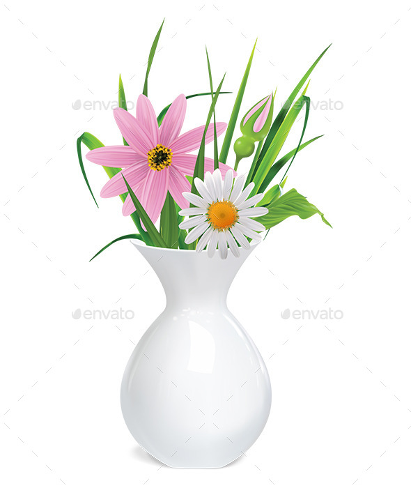 Vase with Flowers - Flowers & Plants Nature