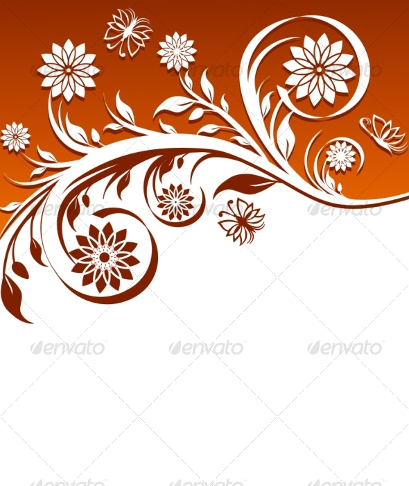 floral ornament by trinochka graphicriver floral ornament