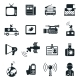 News and Media Icons - GraphicRiver Item for Sale