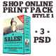 Shop Online Print Pack - Style 1 - GraphicRiver Item for Sale